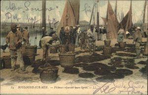 Boulogne-sur-Mer Pecheurs / Boulogne-sur-Mer /Arrond. de Boulogne-sur-Mer