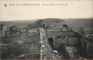 Logne Belgien Ruines de la forteresse /  /