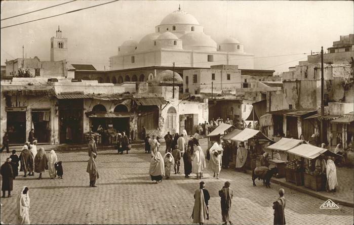 Tunis Place Bab Souika / Tunis /