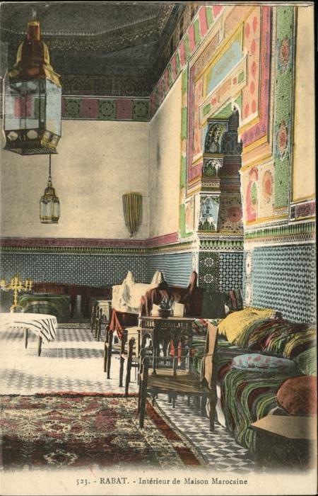 Rabat Rabat-Sale Interieur Maison Marocaine / Rabat / Nr. wf84476 ...