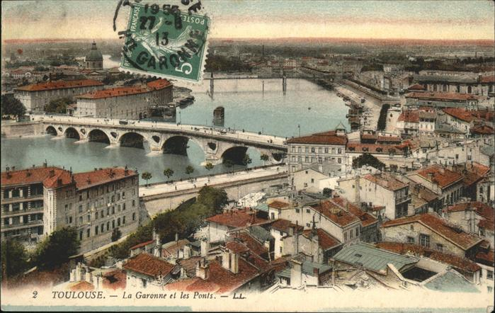 Toulouse Haute-Garonne La Garonne et les Ponts / Toulouse /Arrond. de Toulouse