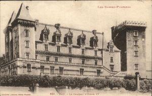 Pau Chateau Henri IV / Pau /Arrond. de Pau