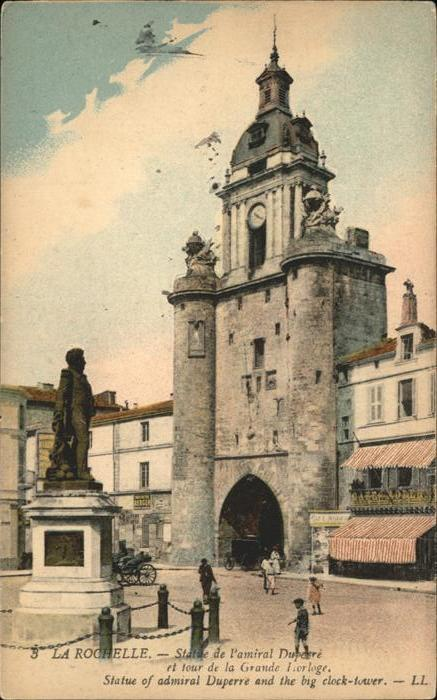 La Rochelle Charente-Maritime Statue de l amria Duperre / La Rochelle /Arrond. de La Rochelle