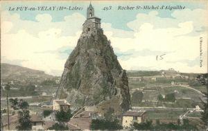 Le Puy-en-Velay Rocher St-Michel / Le Puy-en-Velay /Arrond. du Puy
