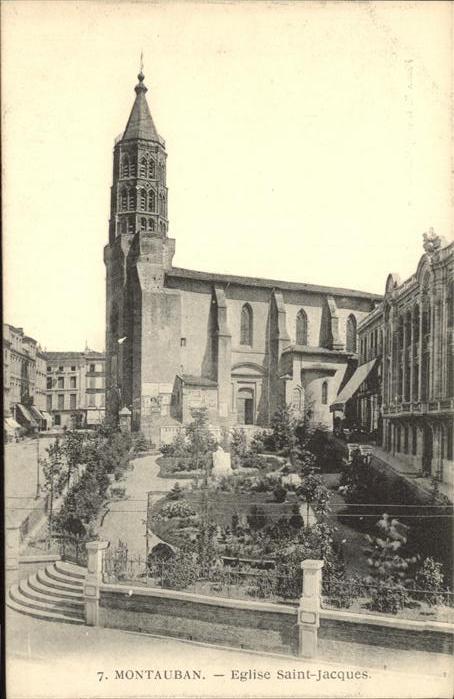 Montauban Eglise Saint-Jacques / Montauban /Arrond. de Montauban