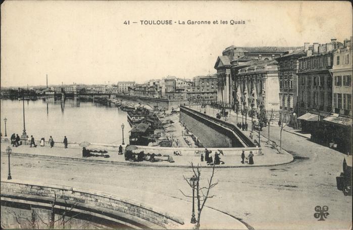 Toulouse Haute-Garonne La Garonne et les Quais / Toulouse /Arrond. de Toulouse
