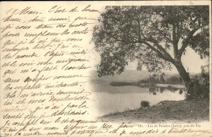 Paladru Lac / Paladru /Arrond. de La Tour-du-Pin