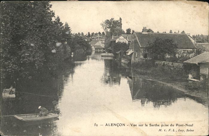 Alencon Pont Neuf / Alencon /Arrond. d Alencon