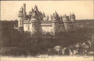Pierrefonds Oise Chateau / Pierrefonds /Arrond. de Compiegne