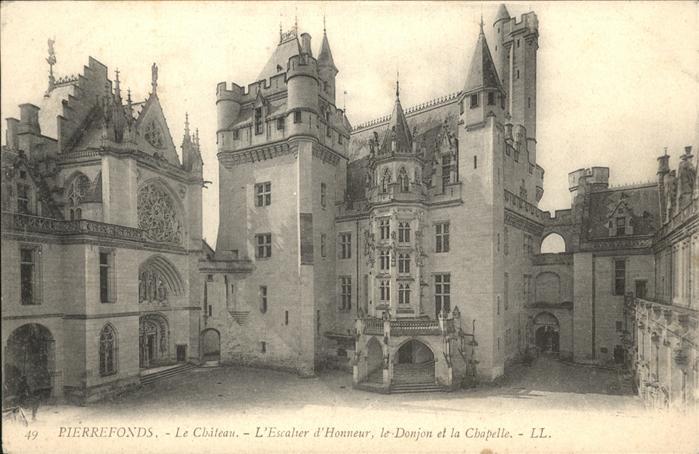 Pierrefonds Oise Chateau Chapelle / Pierrefonds /Arrond. de Compiegne