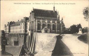 Thouars Chateau Chapelle Caveau  / Thouars /Arrond. de Bressuire