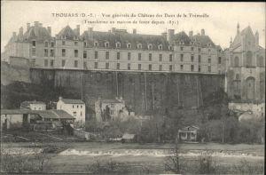 Thouars Chateau Ducs  / Thouars /Arrond. de Bressuire