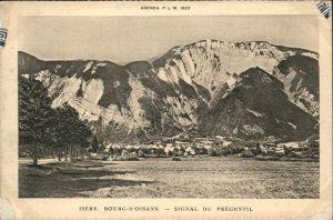 Le Bourg-d Oisans Signal du Pregentil / Le Bourg-d Oisans /Arrond. de Grenoble