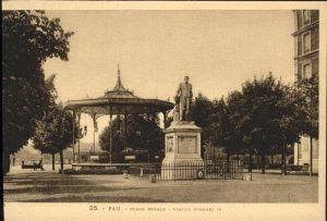 Pau Place Royale Statue d'Henri IV / Pau /Arrond. de Pau