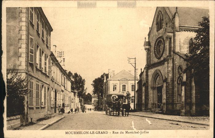 Mourmelon-le-Grand Rue du Marechal Joffre / Mourmelon-le-Grand /Arrond. de Chalons-en-Champagne