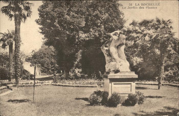 La Rochelle Charente-Maritime Jardin des Plantes / La Rochelle /Arrond. de La Rochelle