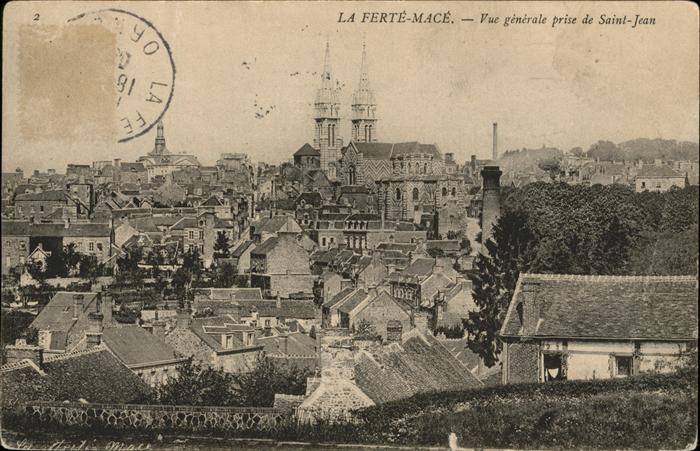 La Ferte-Mace Saint Jean / La Ferte-Mace /Arrond. d Alencon