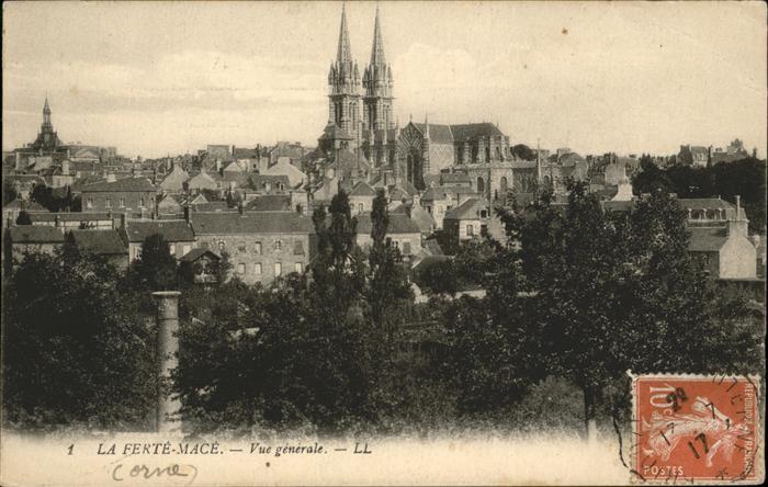 La Ferte-Mace Vue Generale / La Ferte-Mace /Arrond. d Alencon