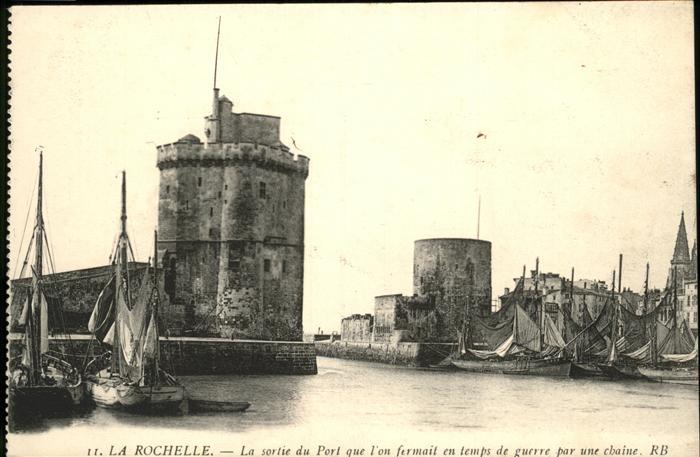La Rochelle Charente-Maritime Sortie du Port / La Rochelle /Arrond. de La Rochelle