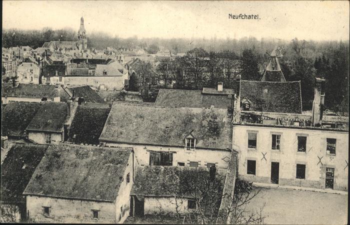 Neufchatel-en-Bray Teilansicht / Neufchatel-en-Bray /Arrond. de Dieppe