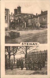 Stenay Teilansicht Soldaten / Stenay /Arrond. de Verdun