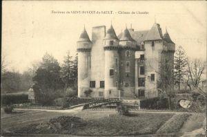 Saint-Benoit-du-Sault Chateau de Chazelet / Saint-Benoit-du-Sault /Arrond. du Blanc