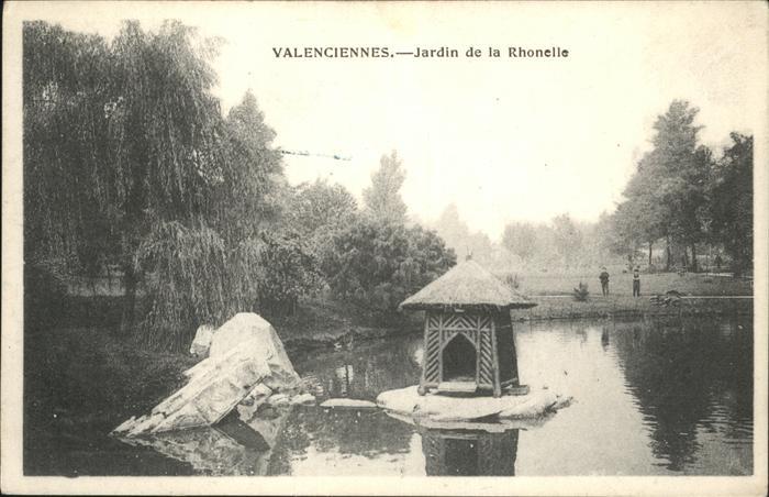 Valenciennes Jardin de la Rhonelle Feldpost / Valenciennes /Arrond. de Valenciennes