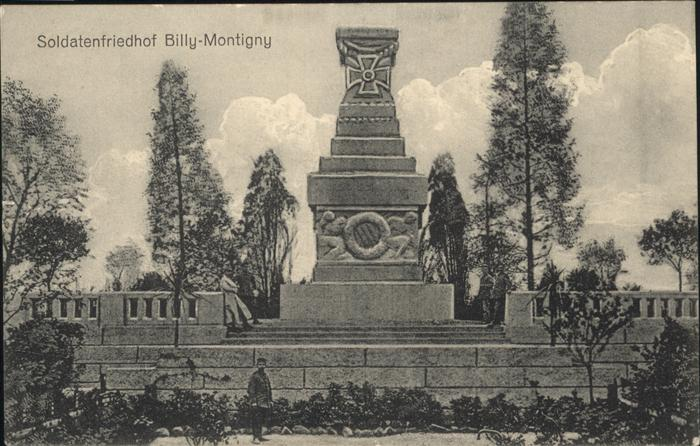 Billy-Montigny Soldatenfriedhof / Billy-Montigny /Arrond. de Lens