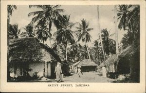 Zanzibar Native Street / Zanzibar /