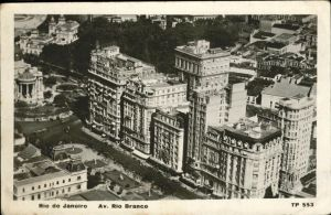 Rio de Janeiro Avenue Rio Branco / Rio de Janeiro /