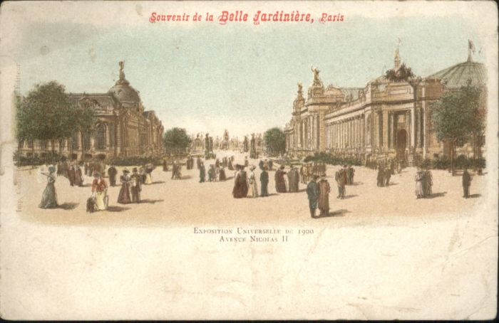 Paris la Belle Jardiniere *