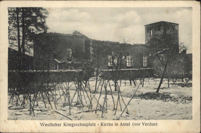 Verdun Amel Kirche *