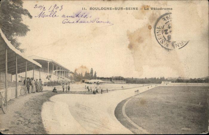 Boulogne-sur-Seine le Velodrome x