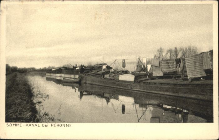 Peronne Somme Peronne Somme Kanal * / Peronne /Arrond. de Peronne