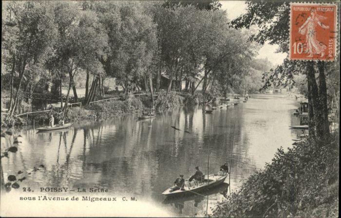 Poissy Seine Avenue Migneaux x
