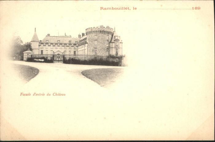 Rambouillet Chateau *