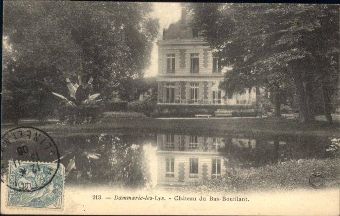 Dammarie-les-Lys Chateau Bas-Bouillant x