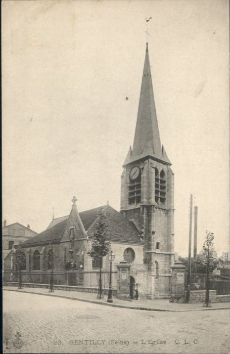 Gentilly Rglise *