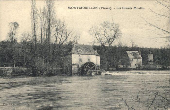 Montmorillon Grands Moulins x