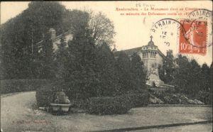 Rambervillers Le Monument eleve au Cimetiere x