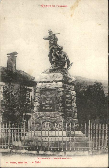 Granges Saone-et-Loire Granges Monument Commemoratif * / Granges /Arrond. de Chalon-sur-Saone
