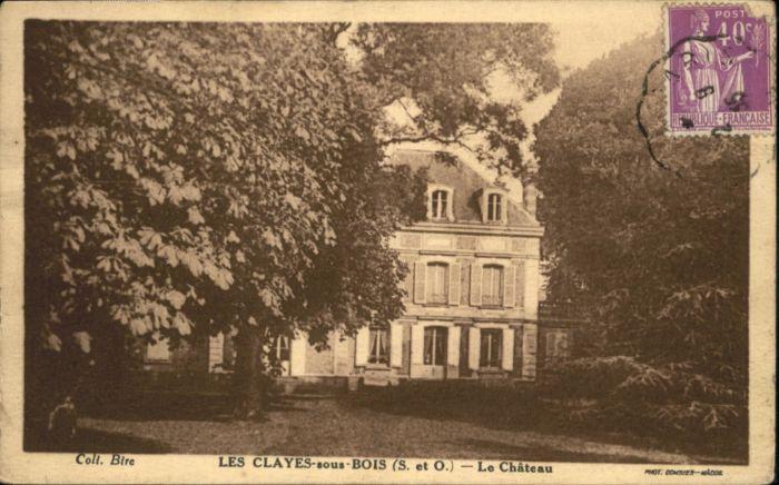 Les Clayes-sous-Bois le Chateau x