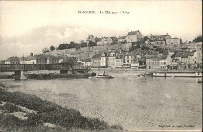 Pontoise  Val-d Oise Chateau Oise / Pontoise /Arrond. de Pontoise