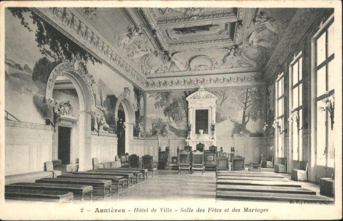 Asnieres Eure Asnieres Hotel de Ville Salle des Fetes et des Mariages * / Asnieres /Arrond. de Bernay