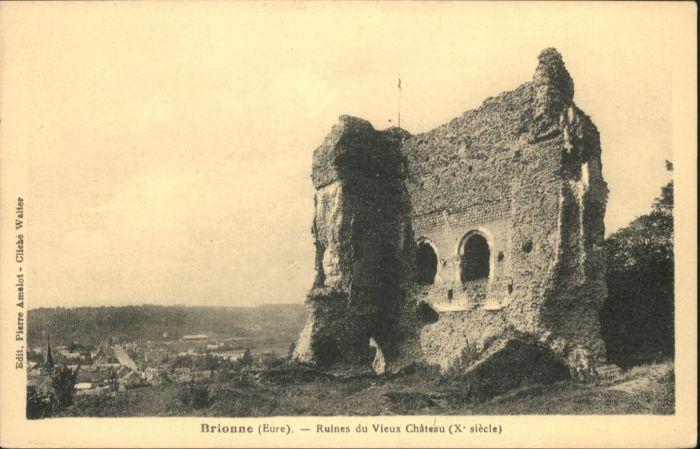 Brionne Ruines du Vieux Chateau *