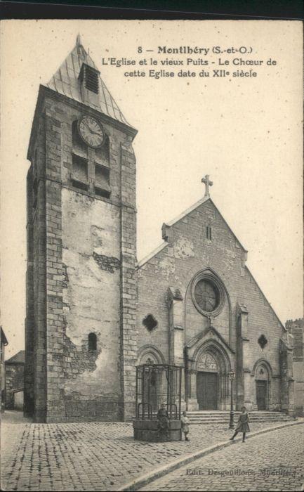 Montlhery Eglise le vieux Puits *