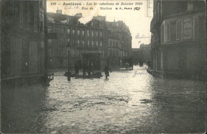 Asnieres Eure Asnieres Rue de Station x / Asnieres /Arrond. de Bernay