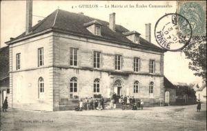 Guillon Mairie les Ecoles Communales x