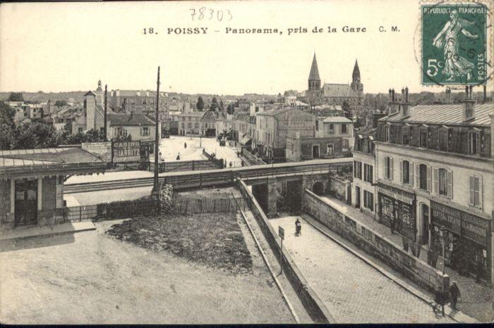 Poissy La Gare x