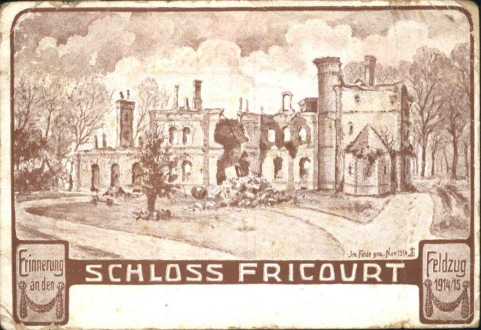 Fricourt Schloss *